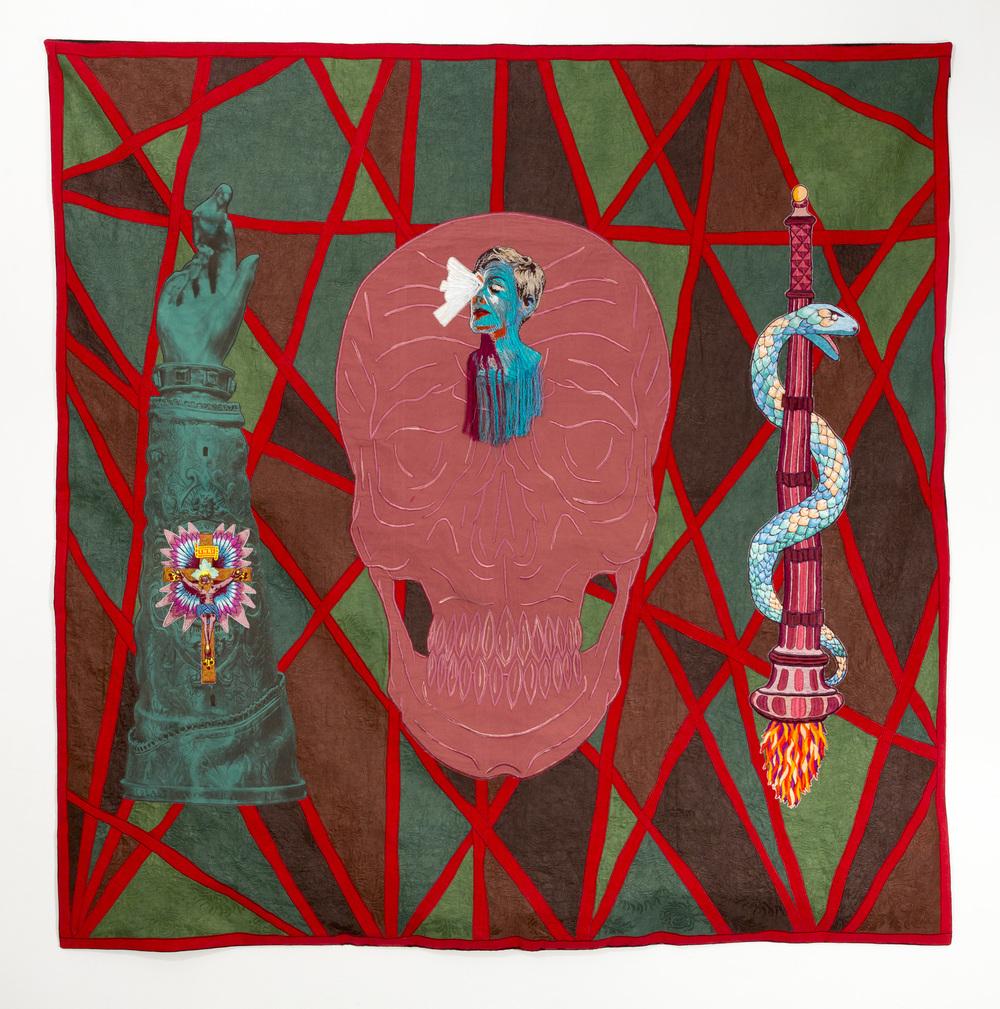 Lamentation, 2016, 155x155cm