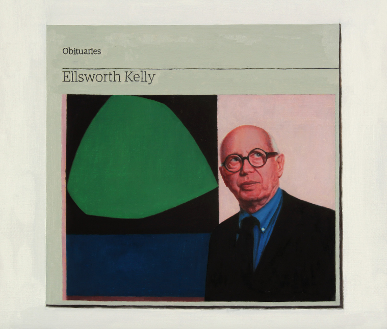 Hugh Mendes, Obituary Ellsworth Kelly, 2016