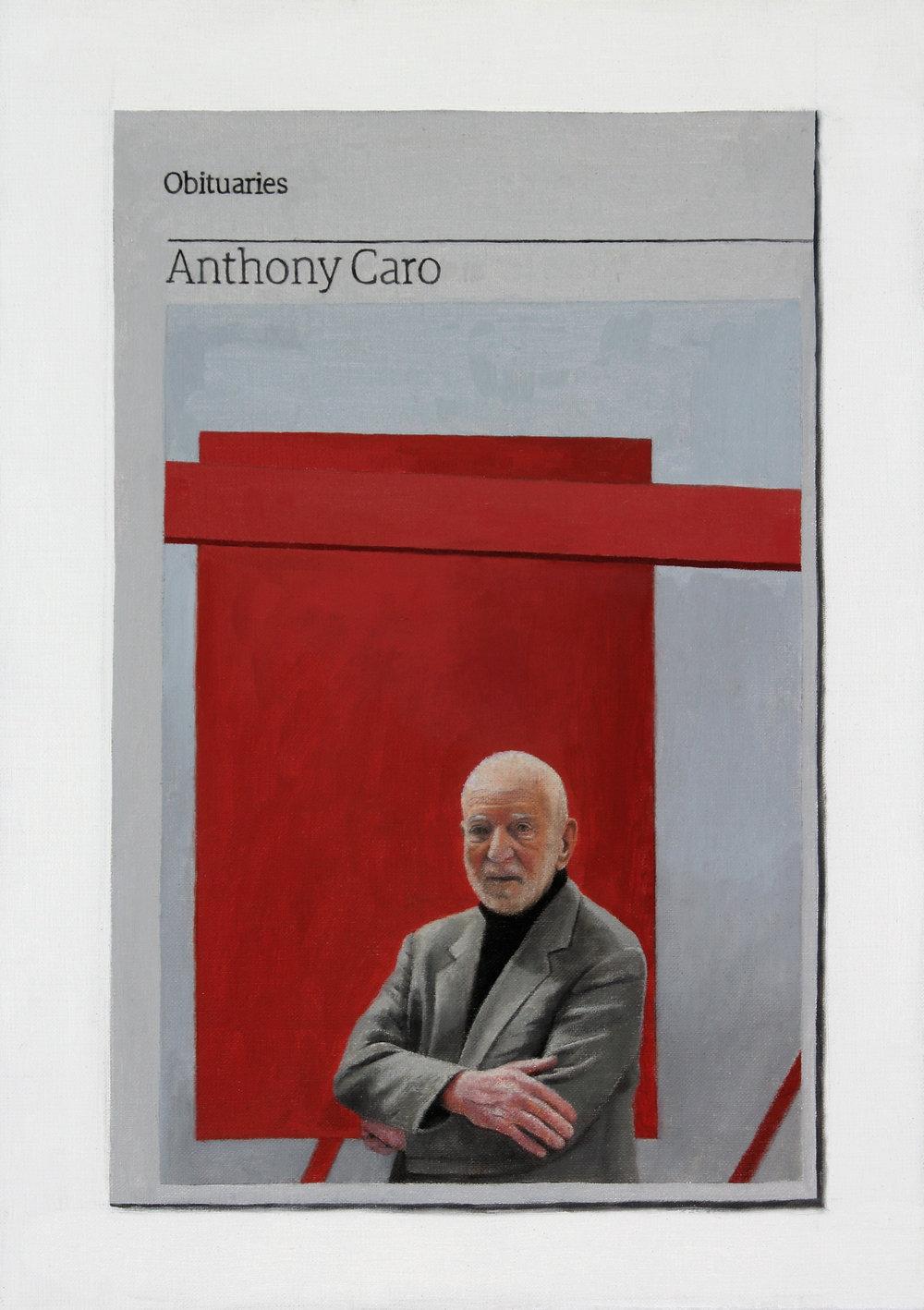 Obituary:Anthony Caro, 2016