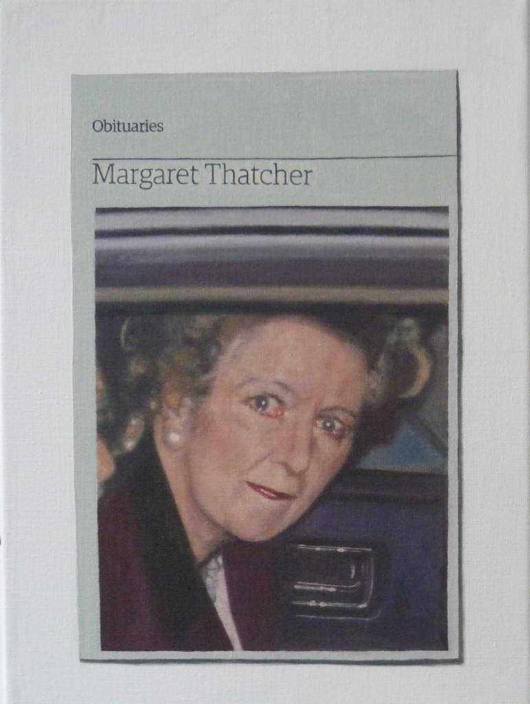 Obituary:Margaret Thatcher, 2014
