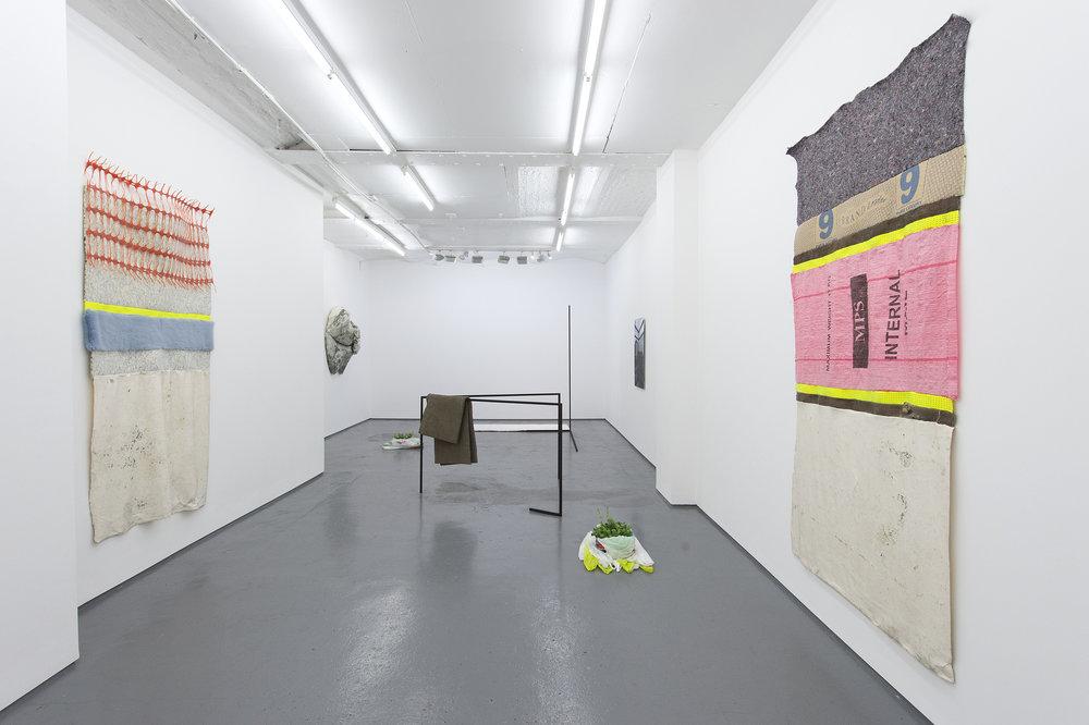 POLYMER (installation shot), (Valérie Kolakis,Scarlett Bowman,Neal Rock), Fold Gallery, 2016
