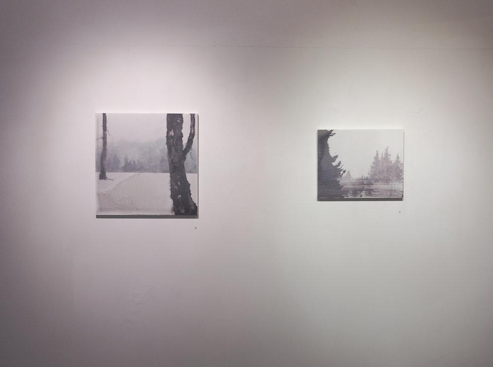GREYSCALE - Solo exhibition at Amelia Johnson Contemporary (Installation shot), Hong Kong, 2014