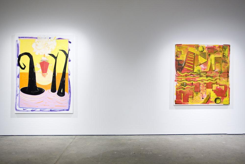 Dickon Drury & Rae Hicks. The Rude Gesture, Unit 1 Gallery, 2016