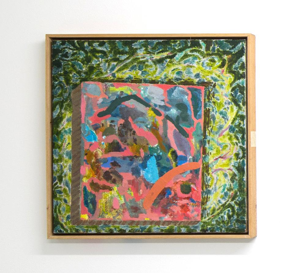 Spotlit painting (landscape) , 2014-16