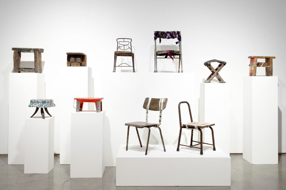 Michael Wolf, Informal Arrangements, Installation View