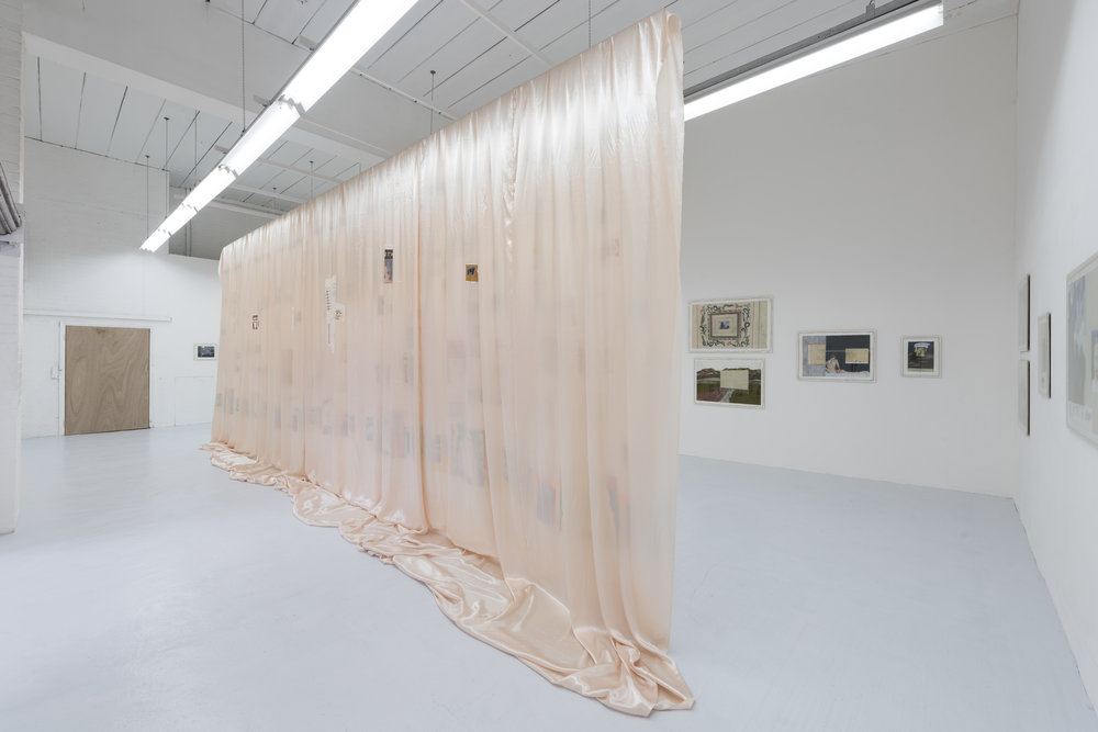 Morning Defeats installation view, Hannah Barry Gallery, photo credit Damian Griffiths