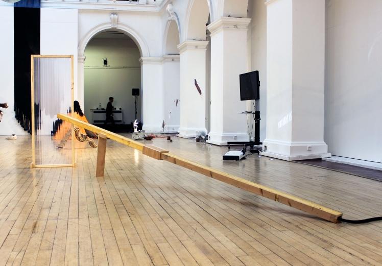 Little Hercules, installation view, Borders Borders, Edinburgh College of Art,2017