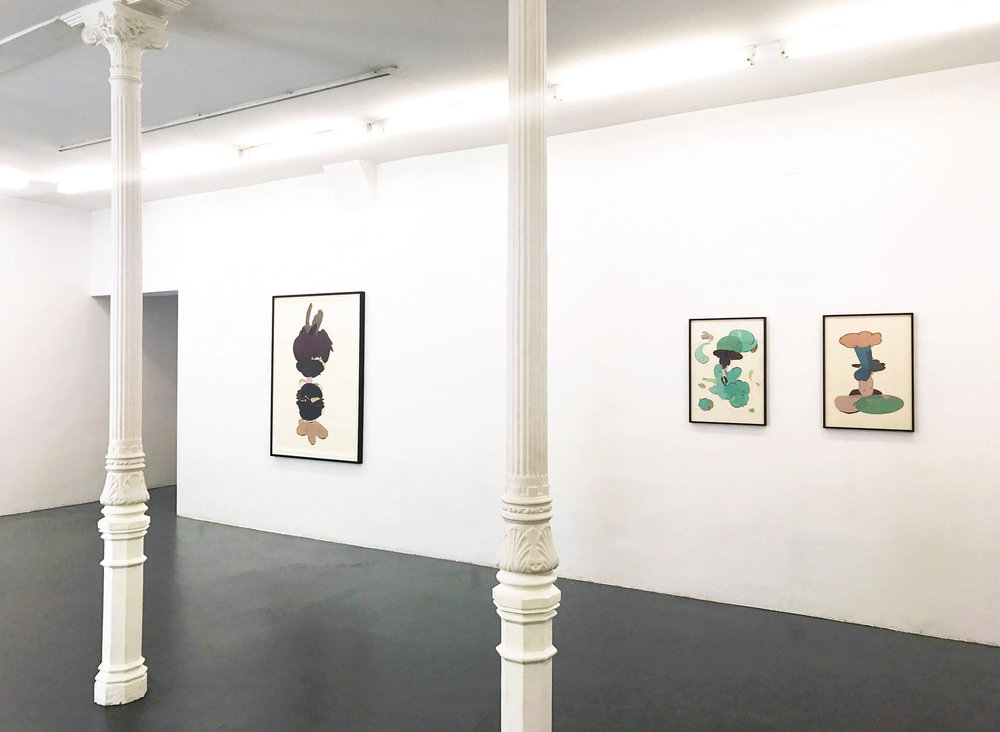 Installation View. F2 Gallery, Madrid, 2017