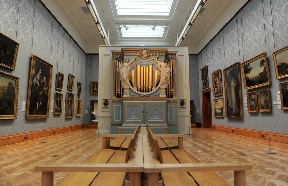 1774 Sir Watkin Williams Wynn chamber organ at National Museum Cardiff (c) National Museum Wales