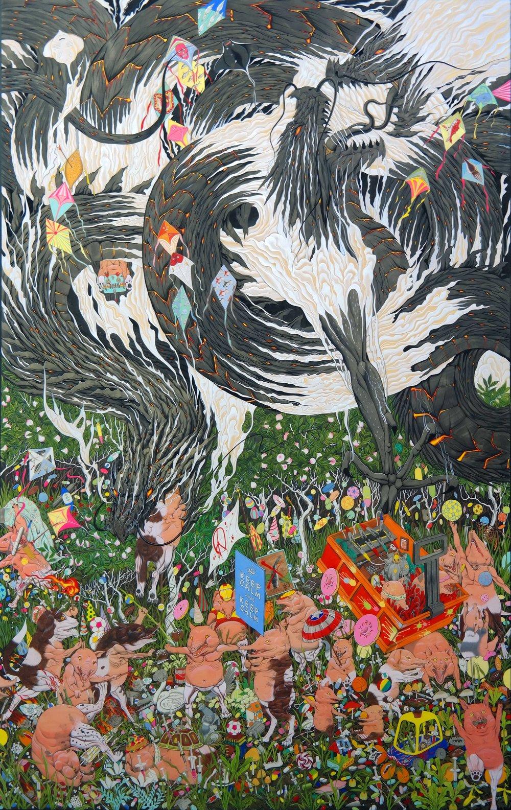 """"""" Pigdog"""", 2016"""