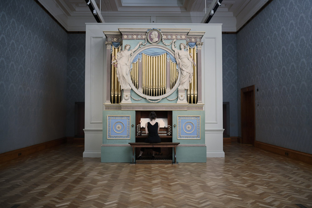 """""""The Sky in a Room""""  National Museum Cardiff 2018 (c) Polly Thomas"""
