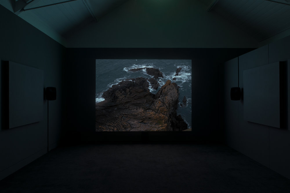 'Listening in the Dark' (installed at Jerwood Space) Maeve Brennan, 2018. Photographer: Anna Arca.