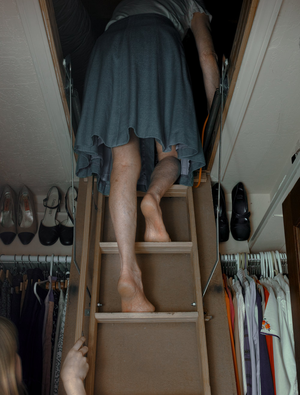 Ascending the Attic Stairs 2017