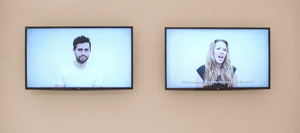 Human Conversation 1 - Installation view (2018)