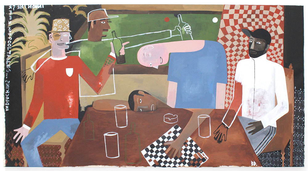 'Weird Knights II (the Mystery of Chessboxing)' 2018
