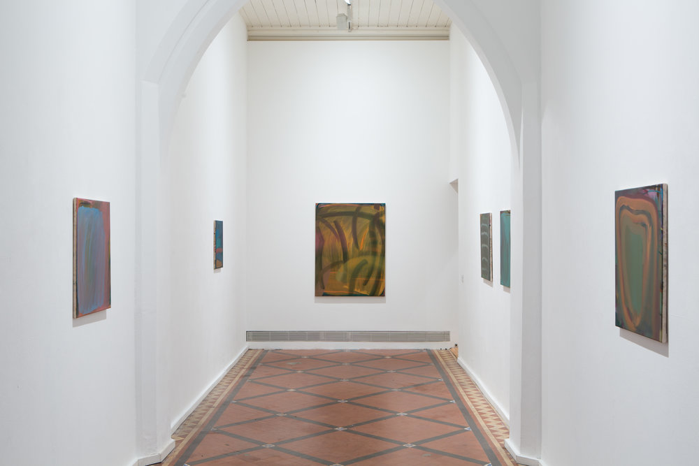 The Echoes of Forgotten Nights, Installation View, Nunnery Gallery, 2018