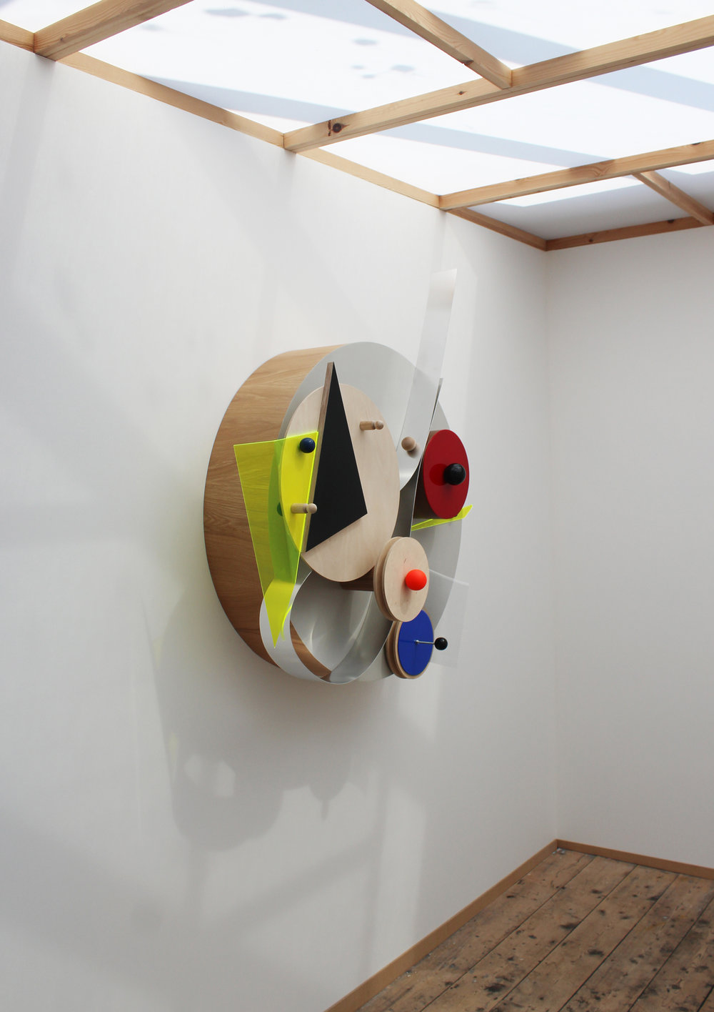 Mark Selby 'Auto-assemblage #14' at Three Works Weymouth June 2016