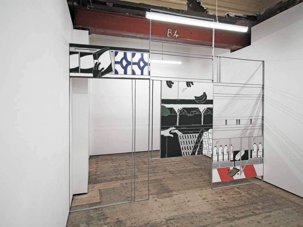 Milly Peck 'Plain Run' in Gallery 2 September 2018