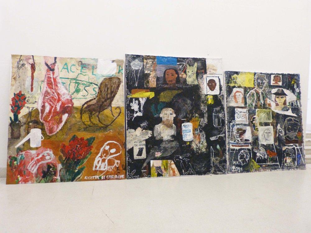 installation view hockney gallery