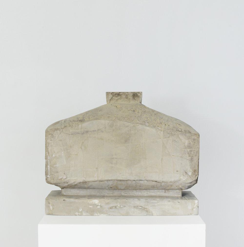 'Vase' - Cement and diamond dust - 28 x 35 x 17 cm - 2017