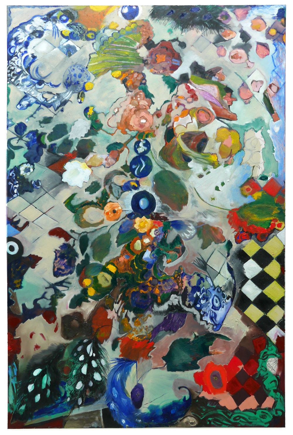 NÂME, Oil on canvas, 243x160cm, 2018