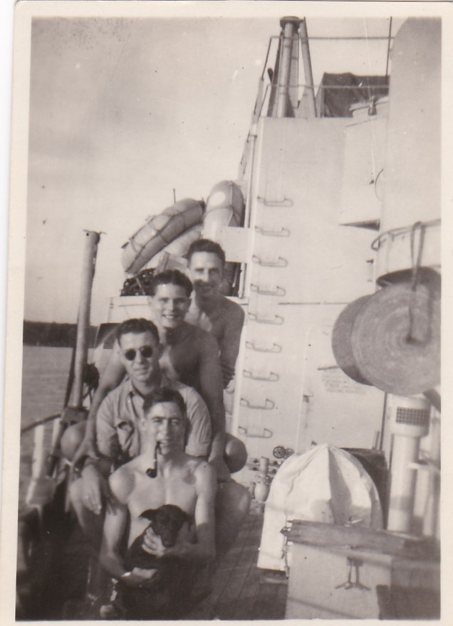 HMS Bulolo crew, Gilbert Summers top