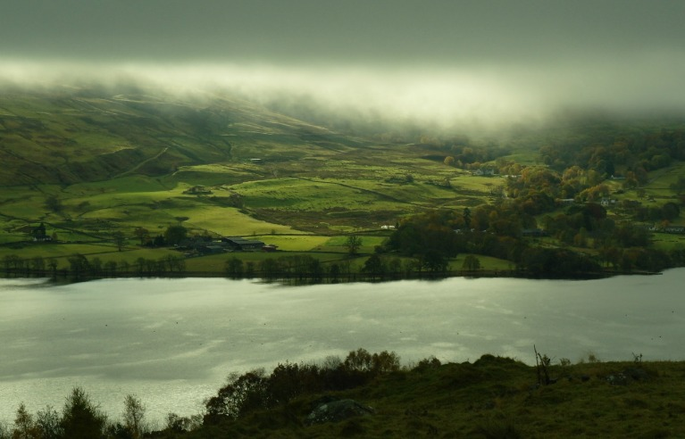 Loch Tay, autumn light
