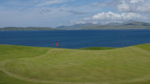 Isle of Harris golf club, at Scarista.