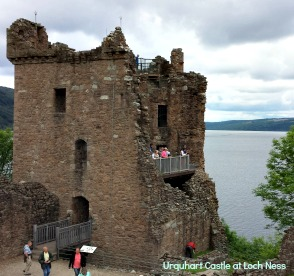 Urquhart Castle, Loch Ness - set to benefit from Loch Ness marketing - and a famous monster-spotting vantage point