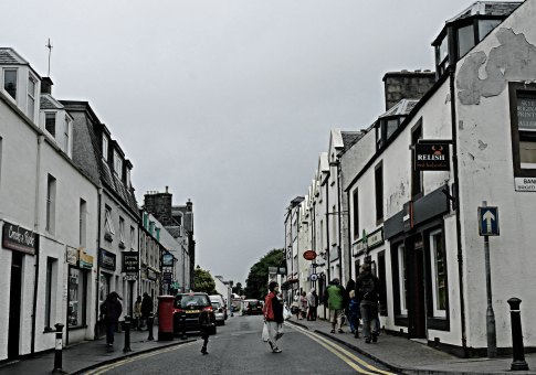 Portree, main street