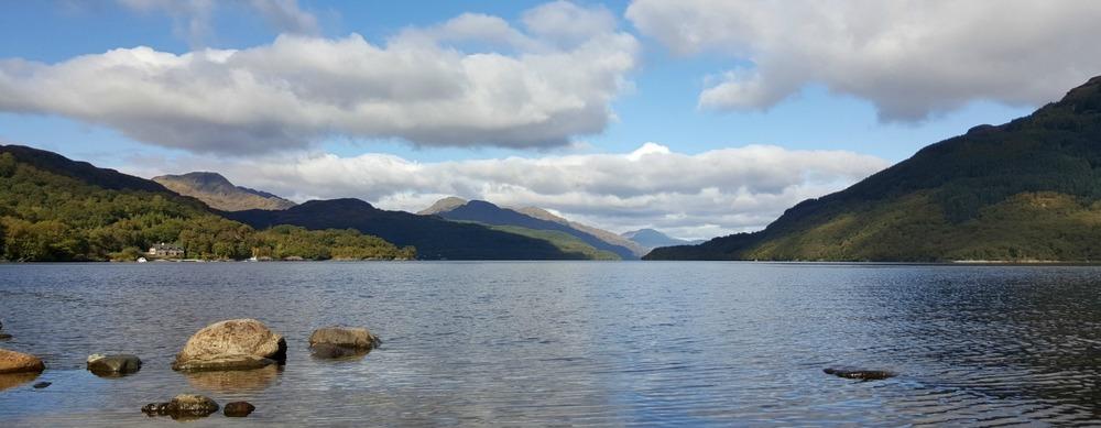 Looking north from Firkin Point, Loch Lomond