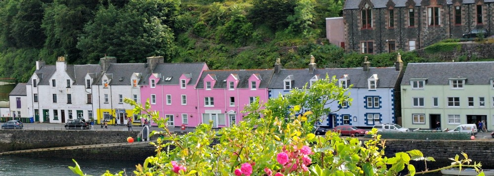 On the Isle of Skye, Portree harbour is  worth discovering