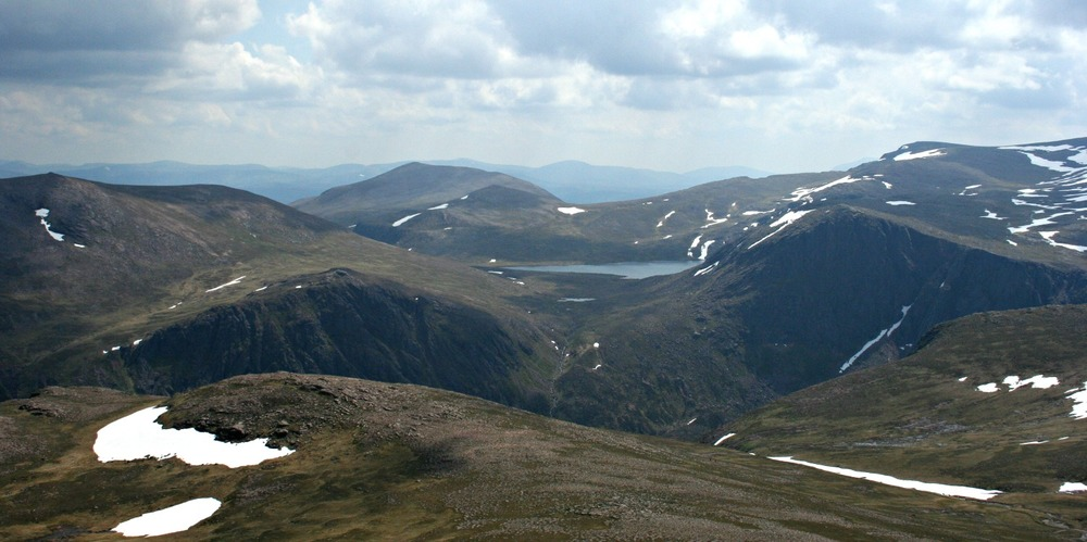In the heart of the Cairngorms, near Ben Macdhui