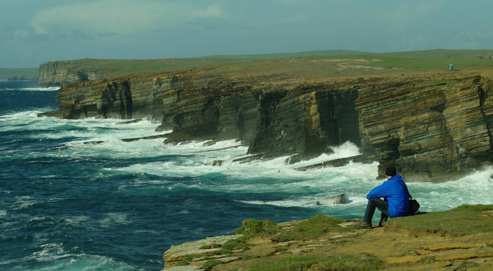 Seascape at Yesnaby, Orkney