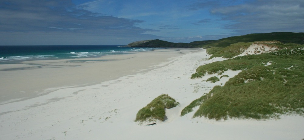 Traigh Eais, near the aiport on Barra