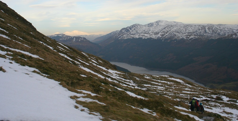 on Ben Ledi, towards Loch Lubnaig