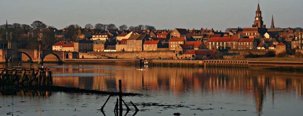 Berwick from the south