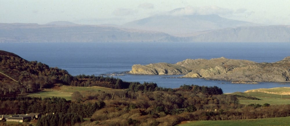 On Colonsay, looking towards Kiloran Bay