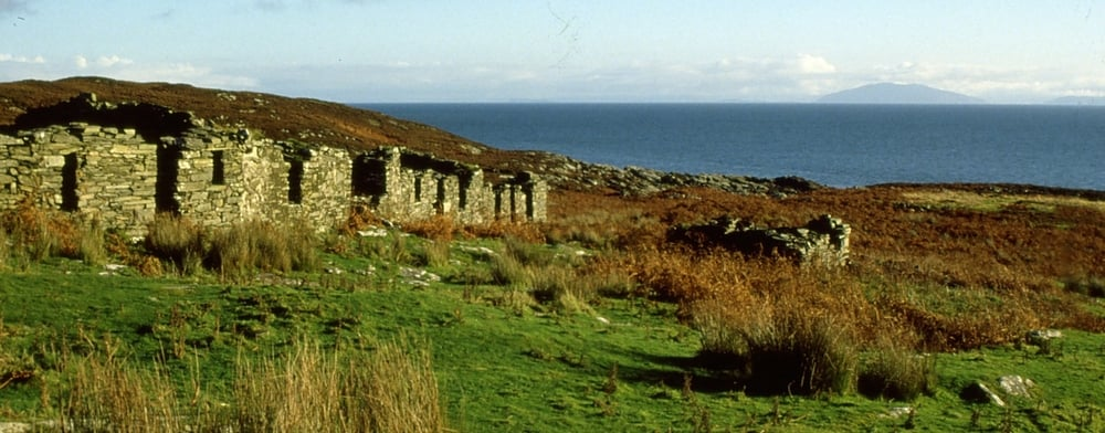 Abandoned village, Isle of Colonsay.