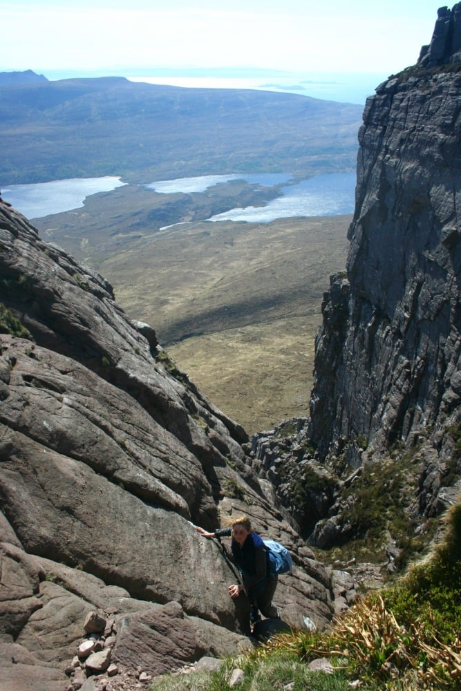 Not the best route up Stac Pollaidh