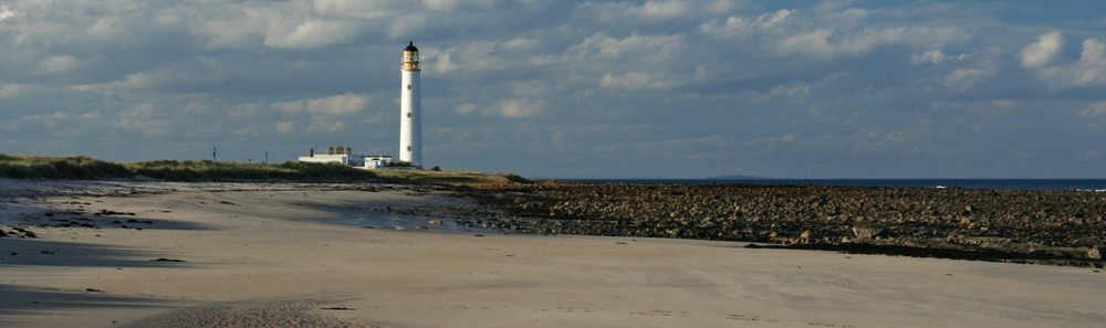 Barns Ness Lighthouse, East Lothian