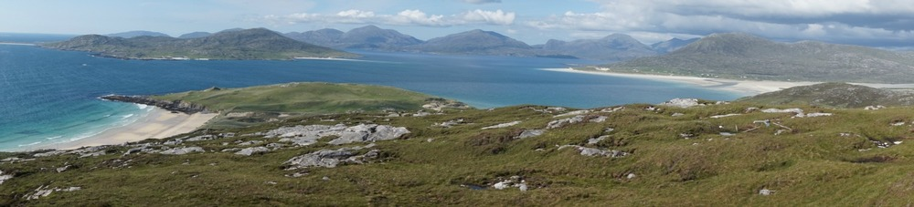 Sound of Taransay panorama
