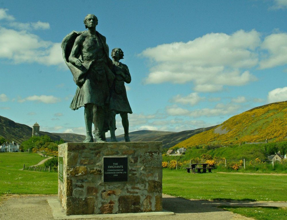 Highland Clearances Memorial, Helmsdale