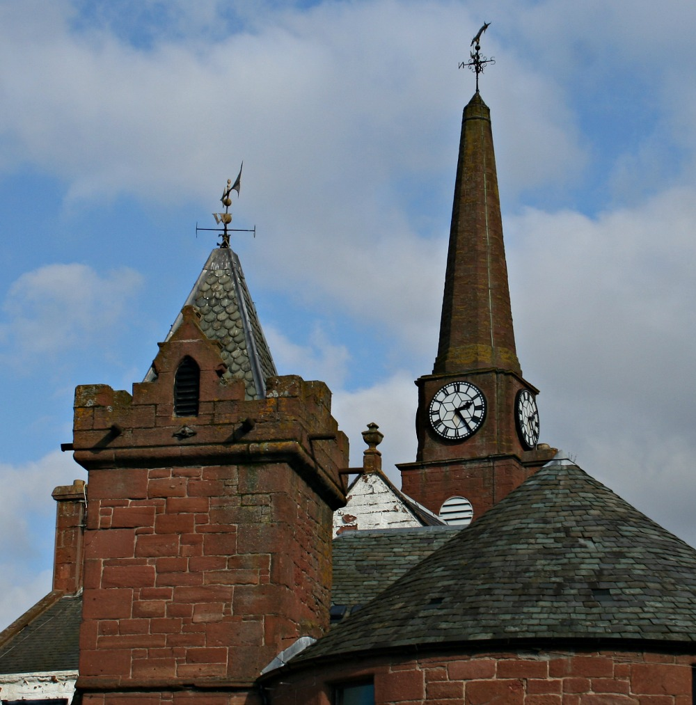 Kirriemuir - Town House.