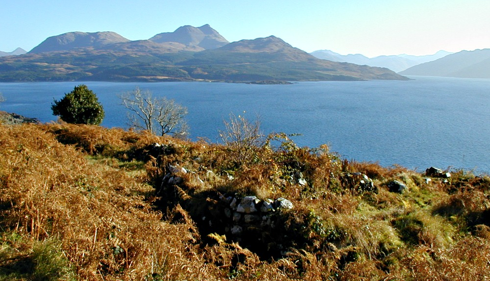 Abandoned village near Kinloch, Skye