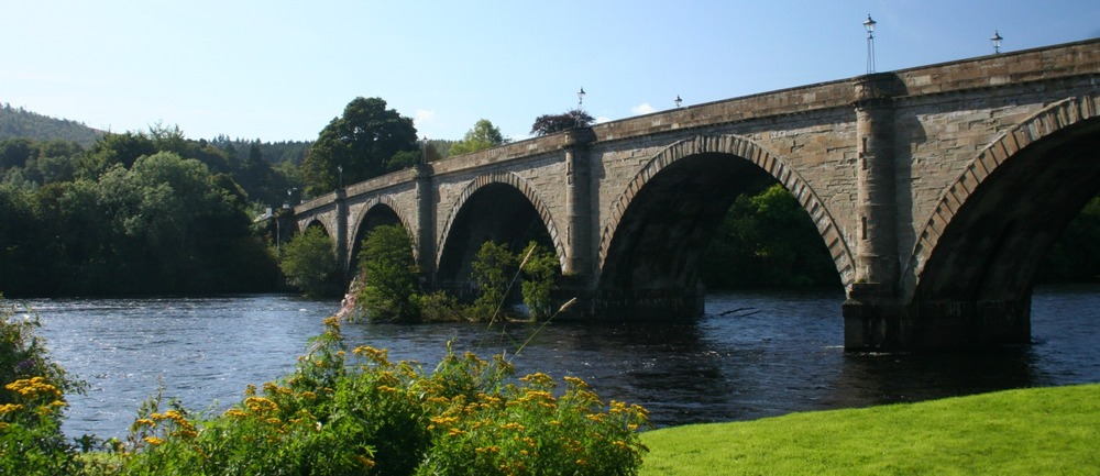 Bridge over the River Tay, Dunkeld, Perthshire