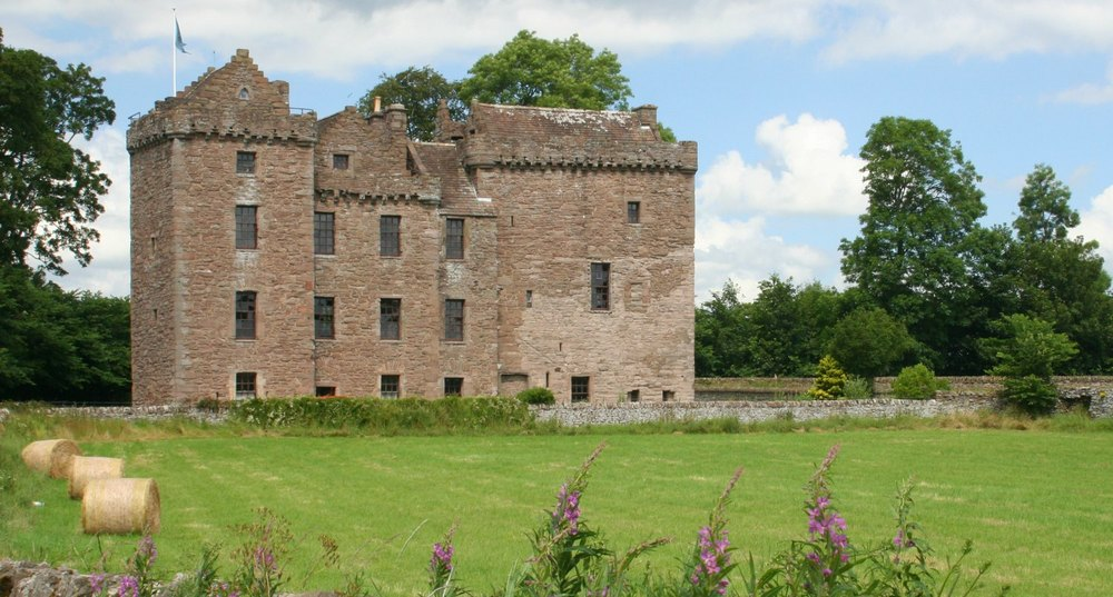 Huntingtower, on the outskirts of Perth, associated with Mary, Queen of Scots