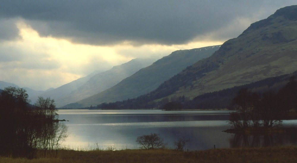 Loch Voil and the Braes of Balquhidder.