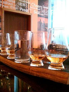 At Edinburgh's Scotch Whisky Experience