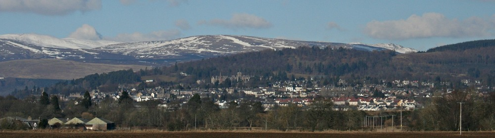 Crieff, traditional resort town with spa heritage